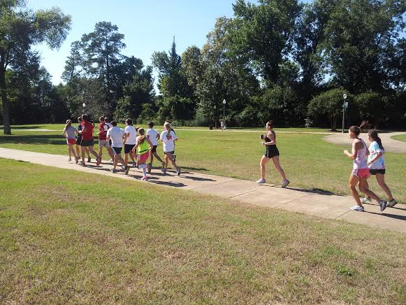 University of Alabama Honors Running Club Training to Compete in Tuscaloosa Half Marathon