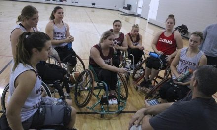 Alabama Wheelchair Basketball Means Serious Business