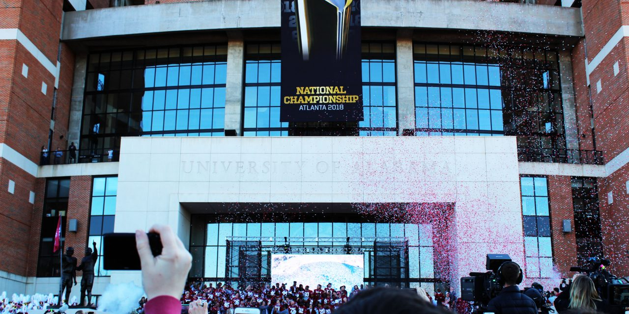 Being There: How Sophomores Experienced Their First National Championship