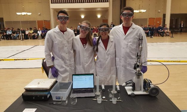 Mosaic Goes Clubbing: Alabama Chem-E Car Team